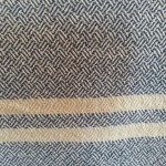 Plaited Twill Towel on Double Two Tie Threading, 8/2 cotton