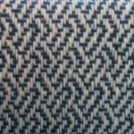 Plaited Twill on Double Two Tie Threading, on loom