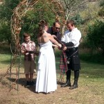 Chad and Jenn, Handfasting, 9/7/13