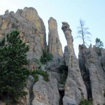 Spires in Needles area of Custer State Park