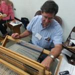 Tom, weaving, 7-13