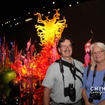 Tom and Tina at Chihuly Garden and Glass, Seattle