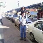 Tom and Demarko in Idaho Springs