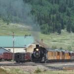 Durango & Silverton RR, Silverton